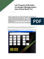 Program Visual Basic 6 - Kalkulator