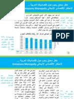 الإحتكار الإقتصادي الإنبعاثي  يهدد إقتصادياتنا العربية