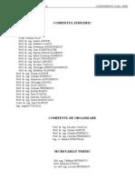 Programul conferintei