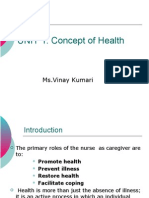 Unit 1 ( health ), nursing