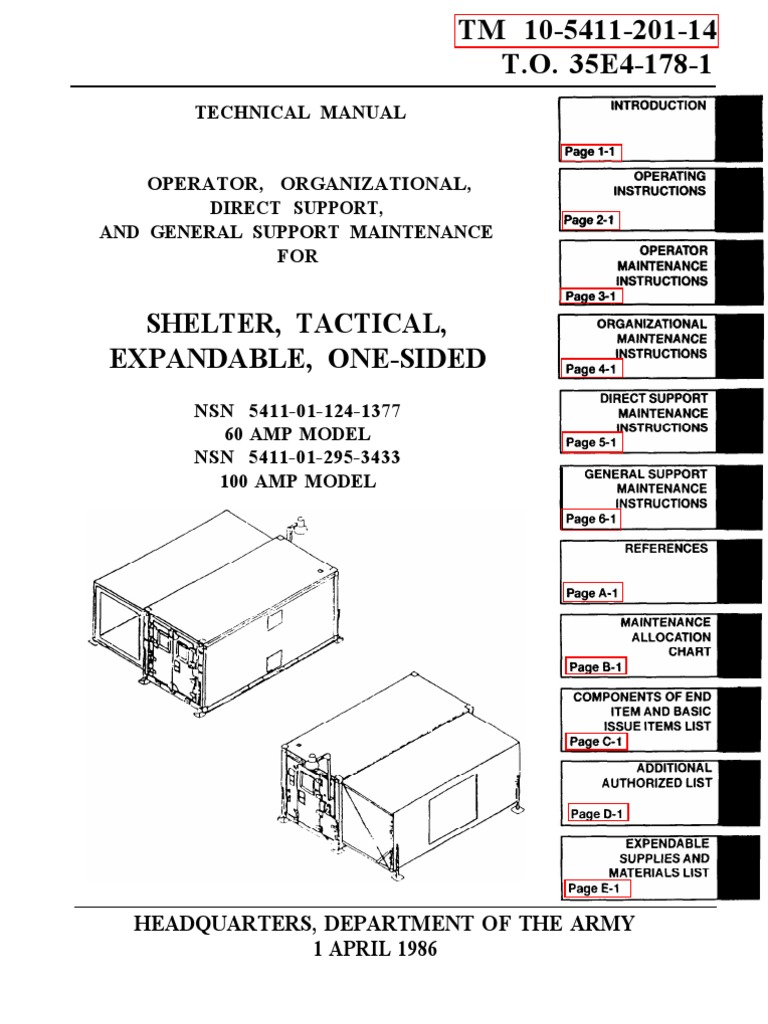 1509208709 tm 10 5411 201 14 iso 2 1 shelter, expandable ,one sided door Basic Electrical Wiring Diagrams at mifinder.co