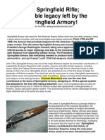 The Springfield Rifle, Incredible Legacy Left by the Springfield Armory