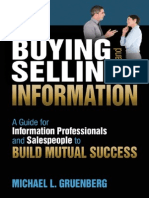 Buying and Selling Information