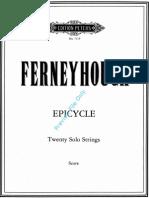 Ferneyhough, B. - Epycicle Per 20 Archi Solisti