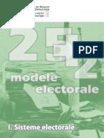 Modele Electorale I Sisteme Electorale