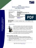 Curso-Grua Horquilla Con Licencia Clase D