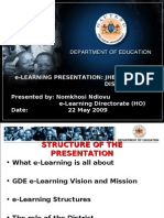 E-learning Imbizo Presentation (Jc)