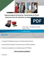 Espectroscopia de Infrarrojo Por Transformadas de Fourier FTIR