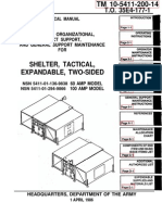 TM 10-5411-200-14 SHELTER EXPANDABLE TWO-SIDED