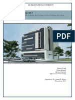 Technical Report for A structural Design Project