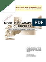 Modelo Adaptacion Curricular