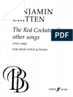 B. Britten - The Red Cockatoo & Other Songs