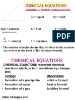 [CHEM] Chemical Reactions