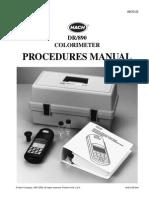 Manual Dr890