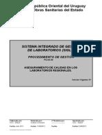Aseguramiento Calidad Laboratorios Regionales
