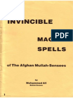 Muhammad Ibn Arabi - Invincible Magick Spells of the Afghan Mullah Sensees Id135090755 Size1455