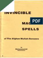 Muhammad Ibn Arabi - Invincible Magick Spells of the Afghan Mullah Sensees Id135090755 Size1455