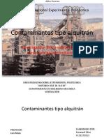 Contaminantes tipo alquitrán, diapositivas