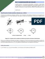 7. Geometría y Clasificación de Fallas