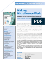Making Microfinances Work