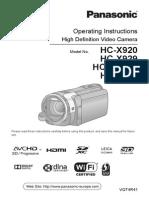 Panasonic HC X929