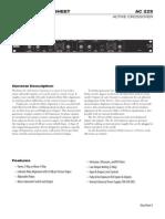 Ac22s Data Sheet