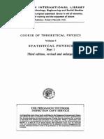 Statistical Physics (part.1) - L. Landau