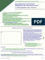 Strahlenfolter Stalking - TI - RFID-Chip - Implantation in den Körper - Möglichkeiten u. Gefahren implantierter Chips - chemtrails-info.de