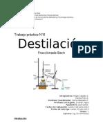 Trabajo Destilación Hegle y Cami