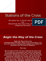 Stations of the Cross - Power Point