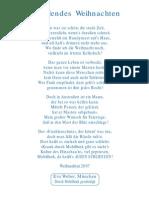 Strahlenfolter Stalking TI Eva Weber Weihnacht 2007 Ein Gedicht Von Eva Weber