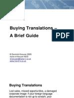 Buying Translations