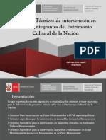 Criterios Tecnicos de Intervencion en Bienes Integrantes Del Patrimonio