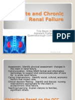Acute and Chronic Renal Failure Student 2013