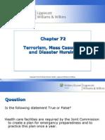 Chapter 072 Disaster Nursing