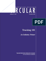 Trucking Industry Primer