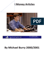 Michael Burry Case Studies