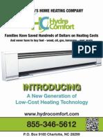 HydroComfort Product Brochure