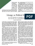 Liturgy as Political Event-Stringfellow