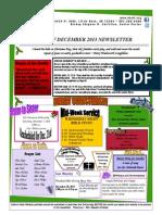 December Newsletter PDF 2013