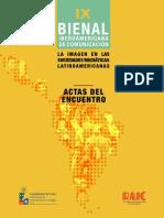 Ponencias IX Bienal Iberoamericana de Comunicación