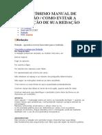 COMPLETÍSSIMO MANUAL DE REDAÇÃO