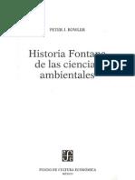 1. Bowler Peter J. Historia Fontana de Las Ciencias Ambientales