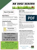 December 6 Newsletter