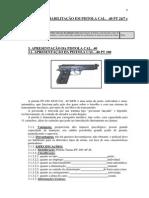 35 Pistola Cal. . 40