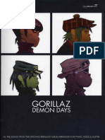 18363268 Gorillaz Demon Days Songbook