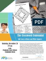 """""""The Crossword Centennial"""