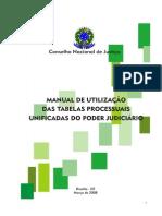 Manual Tabelas Processuais