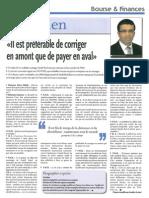 Article Hiyani Finance News Hebdo Audit Fiscal