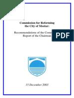 Reforming Mostar-Report (en)